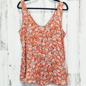 Free People Spring Floral Blouse Size Large
